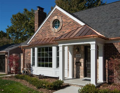 brick house exterior makeover exterior makeovers gallery archives mainstreet design build