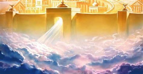 beginilah gambaran bentuk  besarnya pintu surga