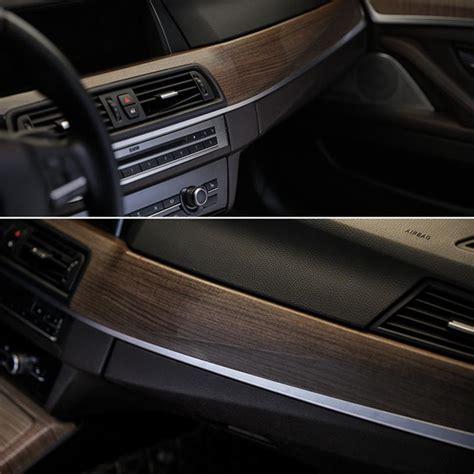 Wood Grain Auto Interior by Car Interior Decor Sticker Teak Texture Mahogany Wood