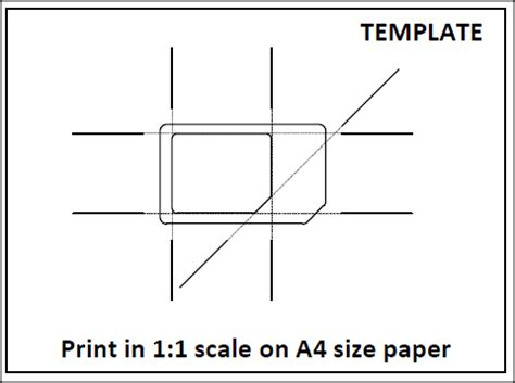 sim card adapter template a4 paper tips from anoop how to make micro sim from usual sim card