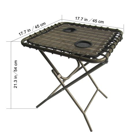 Folding Patio Side Table Garden Patio Set Adjustable Zero Gravity Lounge Chair Folding Side Table Outdoor Ebay