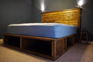 Bed Designs With Storage by Plans Building A Platform Bed With Storage Pdf Woodworking