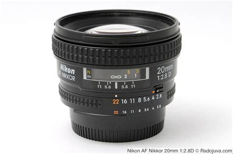 Nikon Af 20mm F 2 8d Lens nikon af nikkor 20mm 1 2 8d