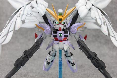 Mainan D Model Sd Zero Gundam g work of the day sd wing gundam zero custom no 19 big size images gunjap