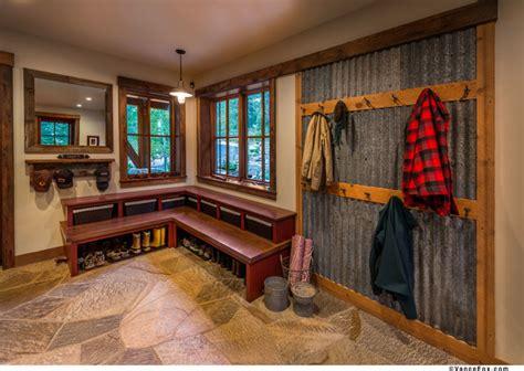 home decor sacramento sustainable mountain home rustic laundry room