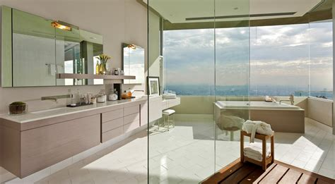 modern style master bathroom opens to hollywood hills view dj avicii s fantastic 15 5 million property in hollywood