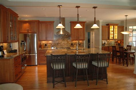 Kitchen Chapel Hill by Transitional With Fusion Granite Transitional Kitchen