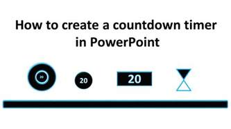 powerpoint basics in 30 minutes how to make effective powerpoint presentations using a pc mac powerpoint or the powerpoint app books how to create a countdown timer in powerpoint tekhnologic