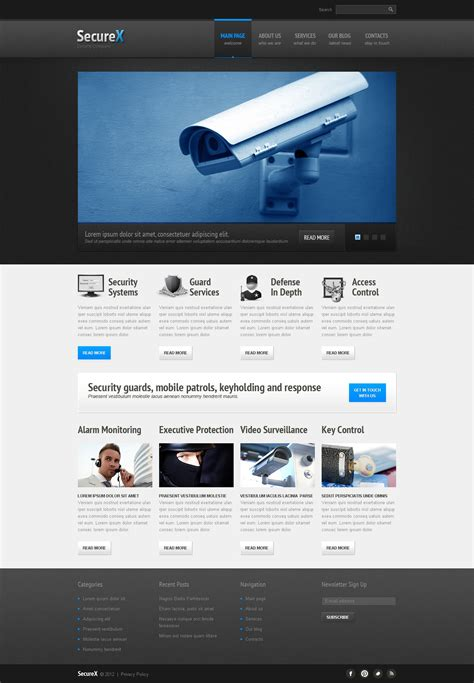 responsive joomla templates security responsive joomla template 42417