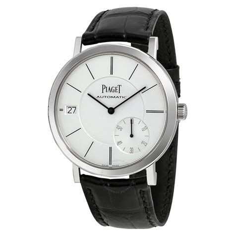 piaget altiplano automatic silver s