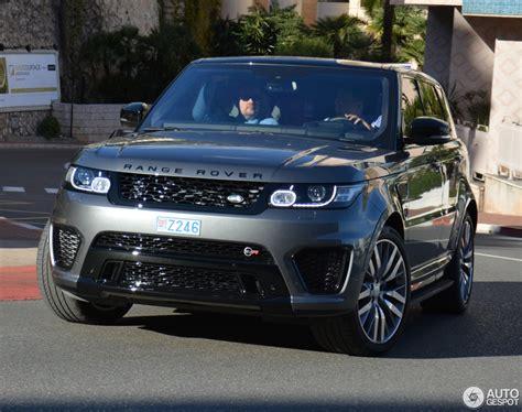 range rover svr 2016 land rover range rover sport svr 26 fvrier 2016 autogespot