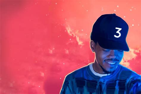 Coloring Book Chance The R Er Album Cover: Coloring book