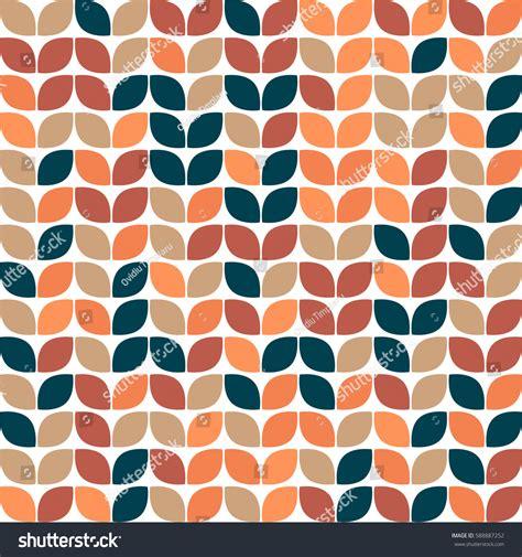 beautiful pattern using different shapes geometric seamless pattern design beautiful shapes stock
