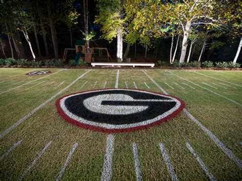 backyard football stadium the best pictures of fans who turned their yard into