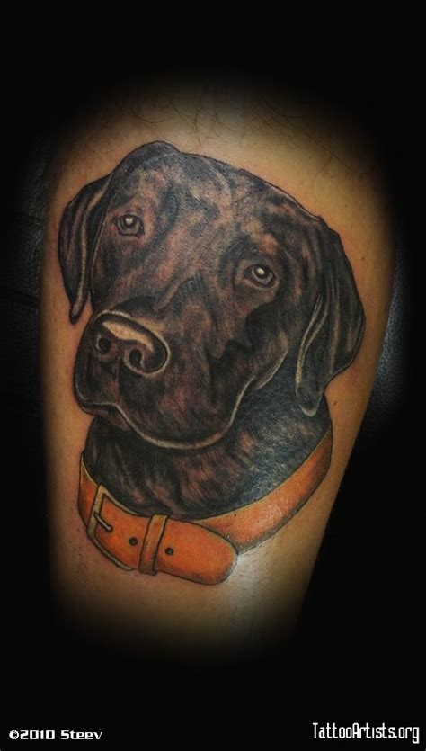 labrador tattoo black lab tattoos pictures to pin on