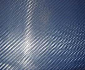 carbon color china 3d blue color lattice carbon fiber wraping china