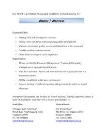 duties of a waitress resume full size of resumebest resume format