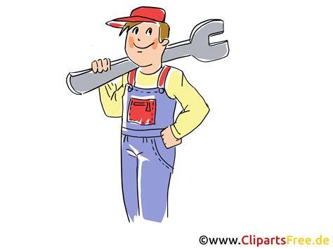 werkstatt clipart kfz meister clipart bild grafik illustration