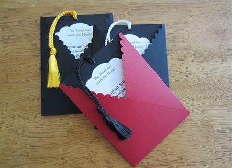 Handmade Graduation Invitations - items similar to graduation invitation pullout tag with