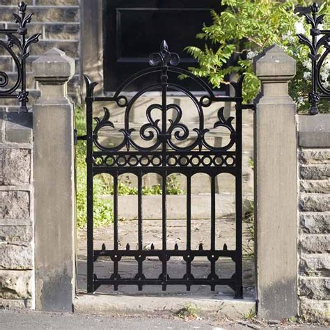 iron home york garden gate garden gates the victorian emporium