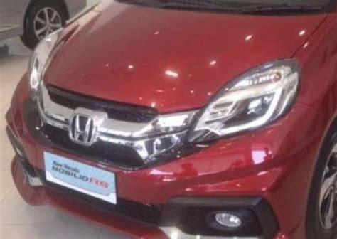 Garnis Depan Honda Mobilio Rs pilihan warna interior dan harga new honda mobilio 2016 jeripurba