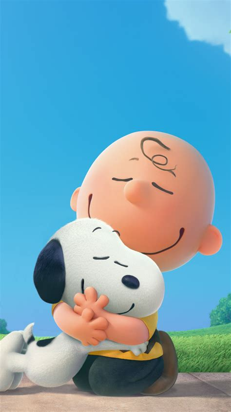 wallpaper iphone 6 snoopy peanuts 2015 movie iphone 6 6 plus and iphone 5 4 wallpapers