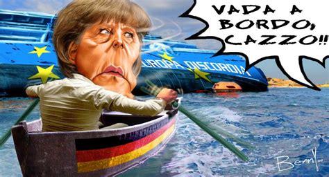 boat club ta cost captain merkel abandoning the sinking ship eats shoots