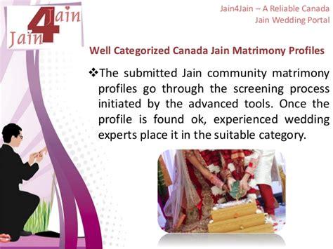 Wedding Portal by Jain4jain A Reliable Canada Jain Wedding Portal
