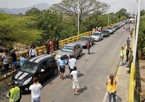 imagenes frontera venezuela colombia refuerza colombia medidas migratorias en frontera con