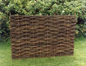Trellis Screening Ideas Willow Fence Panels By Somerset Country Hurdles