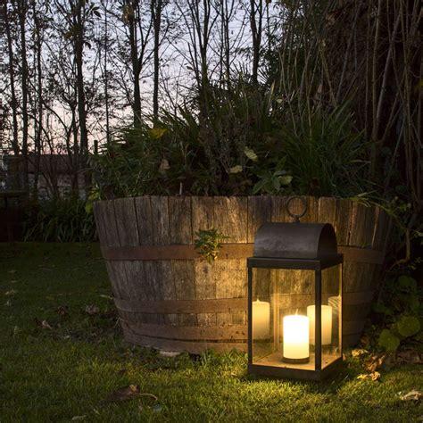lanterna giardino lanterna da giardino con candela in ferro o ottone il fanale