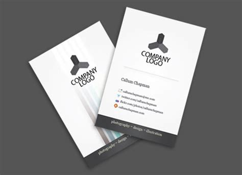 business card template illustrator free illustrator business card tutorials