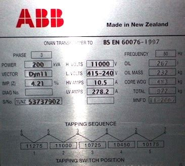 transformer impedance on rating q a of the day can i calculate the ze of this