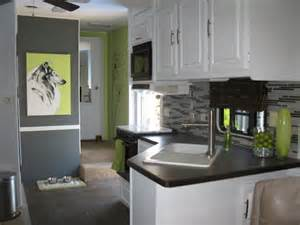 Remodel Kitchen Cabinets Yourself Diy Nature Inspired Rv Renovation