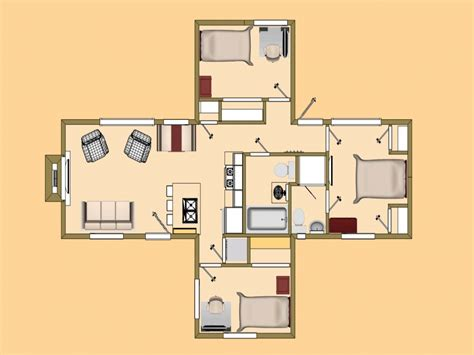 Small House Plans by Small House Floor Plan Small House Plans Cozy Home