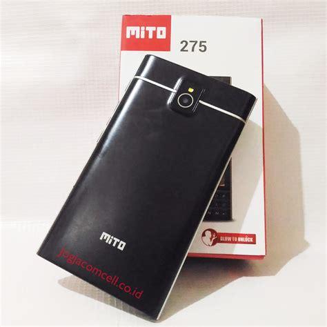 mito 275 ponsel dual sim layar sentuh dan keyboard qwerty