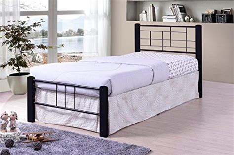 Solid Platform Bed Frame No Slats Need Mattress Only No Box Black Metal Modern Platform Bed Frame Size Headboards