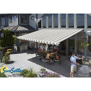 costco awning sunsetter motorized retractable awnings shopping costco