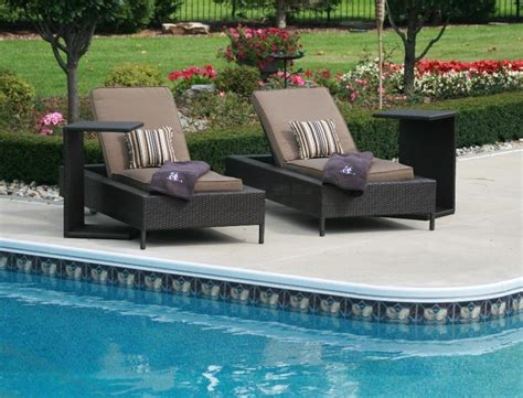 swimming pool furniture decoration access