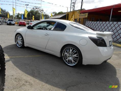 2008 nissan altima custom 2008 nissan altima 2 5 s coupe custom wheels photo
