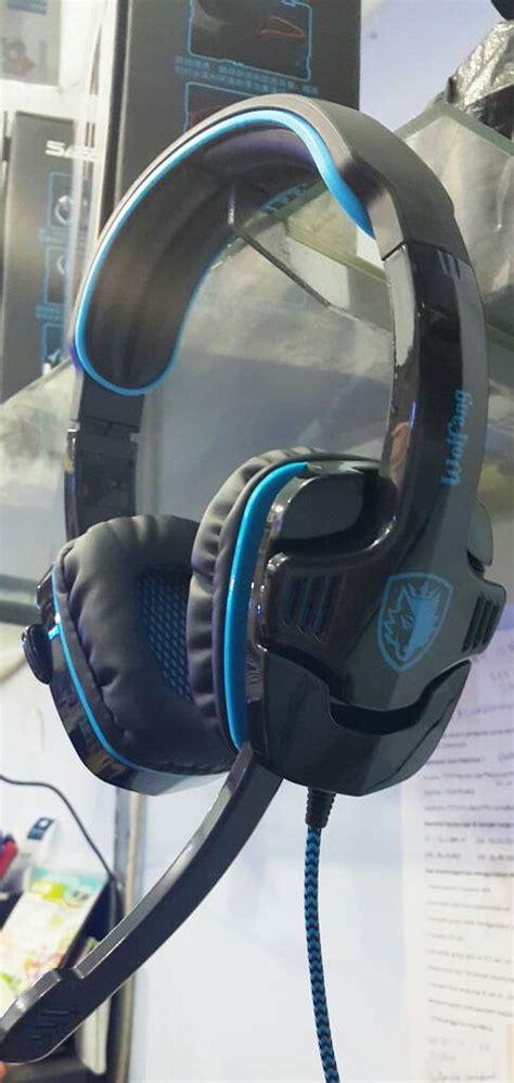 Headset Gaming 7 1 Sades Sa 901 Wolfang Garansi 1thn Murah Berk jual headset sades sa 901 gaming 7 1ch sound hans
