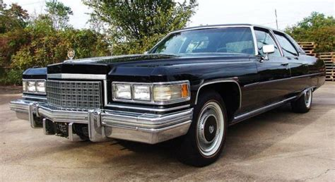 1976 Cadillac Fleetwood Talisman For Sale by 1976 Cadillac Fleetwood Talisman Black For Sale