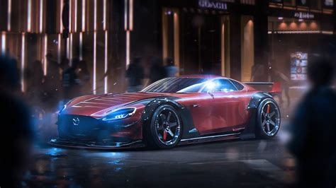 Mazda Car Wallpaper Hd by Mazda Rx Vision Concept Wallpaper Hd Car Wallpapers Id