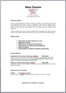 Registered Nurse Resume Sample by Free Targeted Cv Template Zone Jobfox Uk