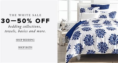 Hudson S Bay Canada Offers - hudson s bay canada white sale save 30 50 bedding