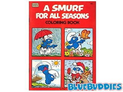 smurf coloring books for sale 17 best images about smurfalicious on