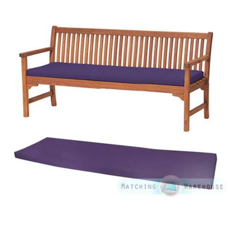 bench seat pad cushions outdoor waterproof 4 seater bench swing seat cushion