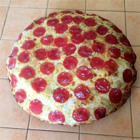 pepperoni pizza bed