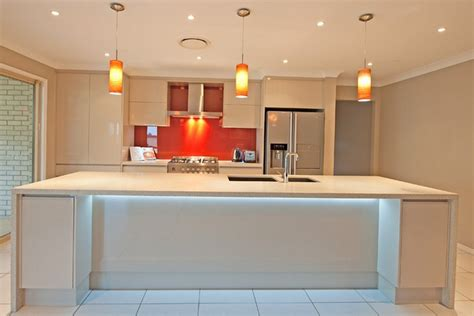 kitchen under bench lighting led strip lighting brisbane kitchen renovations