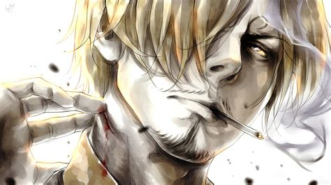 Anime One by Wallpaper Drawing Illustration Anime One Sanji
